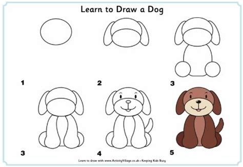 how to do simple doodle how to draw a puppy step by step learn to draw a