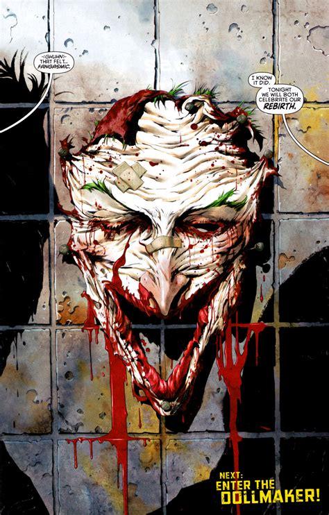 imagenes de joker new 52 the joker s new look revealed