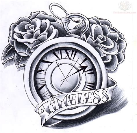 tattoo clock design clock images designs