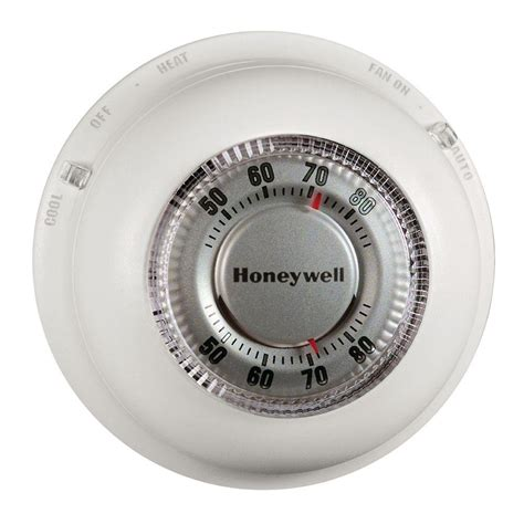 Honeywell Round Heat/Cool Thermostat CT87N   The Home Depot