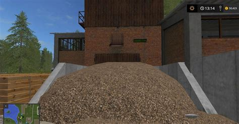 Wooden Ls by Wood Sawmil Mod For Farming Simulator 2017 Buildings