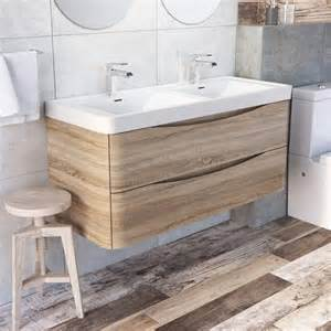Double Wash Basin Vanity Unit Wall Hung Vanity Units A Practical And Space Saving