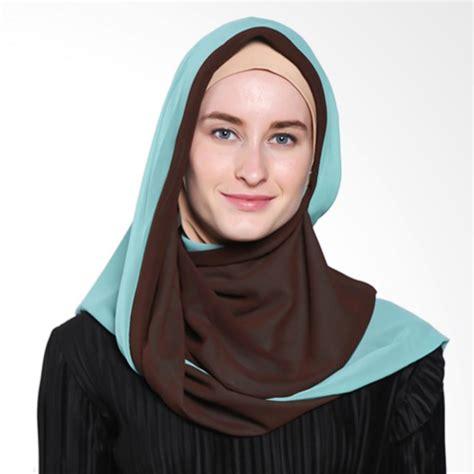 Jilbab Instant Formal Bahan Jual Tatuis Damour 060 Jilbab Instant Brown Tosca