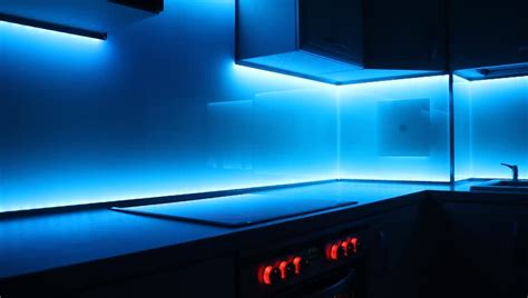 how to fit led kitchen lights with fade effect modern luxury kitchen with led lighting fade effect