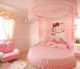Girls Bedroom Decorating Ideas by Hello Kitty Girls Room Designs