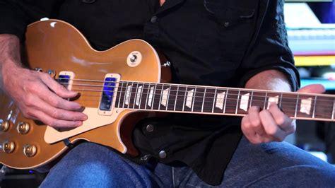 Miniatur Gitar Gibson Les Paul Gold Slash 2011 gibson les paul deluxe gold top mini humbuckers