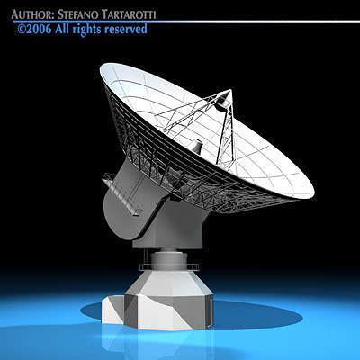 Antenna 3d Model