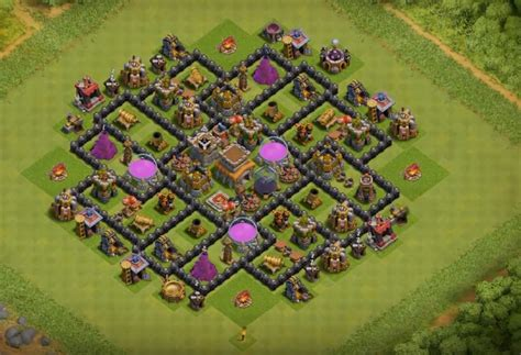 clash of clans best th 8 trophyclan war base th8 4 12 base layouts for 2017 farming pushing clan war th8