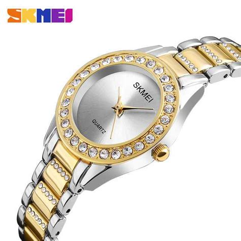 Jam Tangan Anak Wanita Original Casio Skmei Baby G Model Anti Air jual jam tangan wanita skmei casio fashion original 1262cs gold
