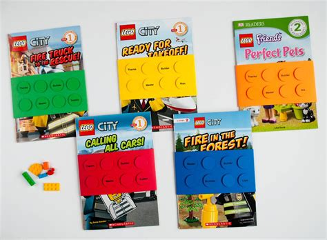 Home Decor Handmade Crafts Easy Diy Lego 174 Book Birthday Party Favors And Tags