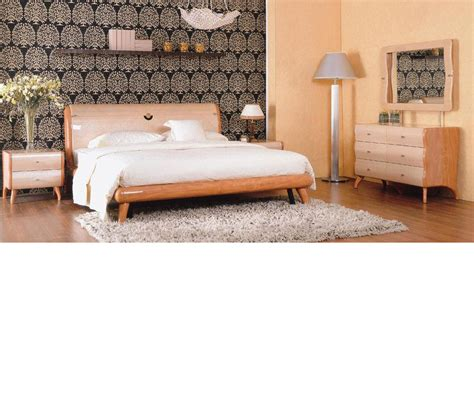 lacquer bedroom furniture dreamfurniture com verona contemporary lacquer bedroom set