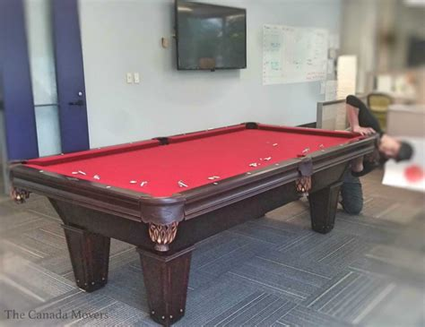 pool table mover pool table moving toronto brton hamilton ajax barrie