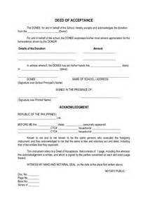 certificate of acceptance format