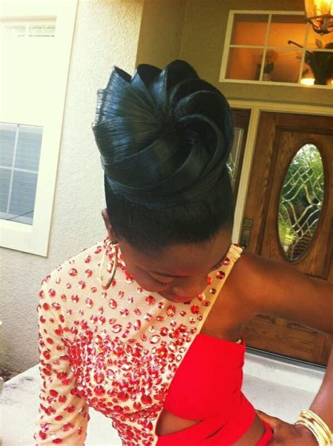 premade african american hair buns 1000 images about african american wedding hairstyles on
