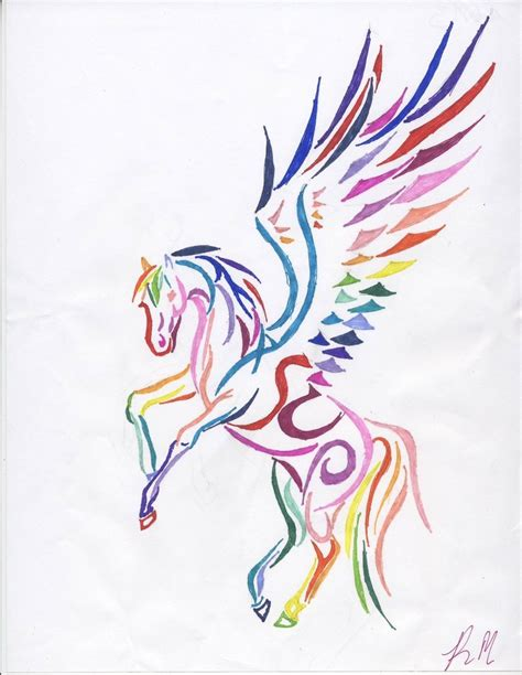 rainbow unicorn tattoo designs ideas on name tattoos pegasus