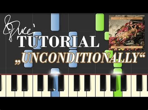 piano tutorial unconditionally katy perry unconditionally piano tutorial midi youtube