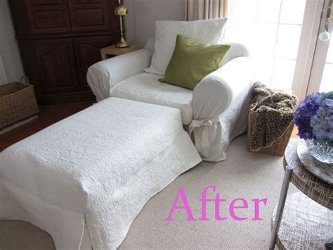 pottery barn style slipcovers how to make pottery barn style slipcovers using a quilt