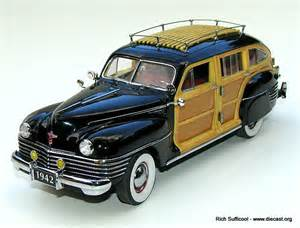 Is Chrysler Town And Country Being Discontinued Danbury Mint 1 24 1942 Chrysler Town Country Station