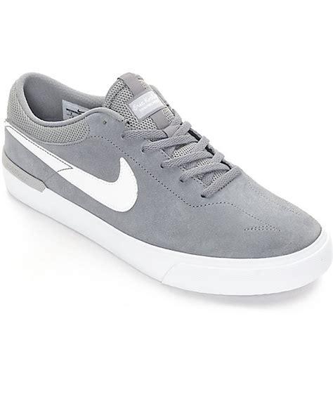 nike sb koston hypervulc cool grey white skate shoes