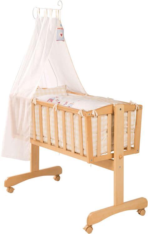 Baby Wiege Holz by Roba Komplettwiege Babywiege Stubenwiege Wiege Holz Ebay