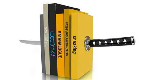 Bookend by The Katana Bookend Livbit