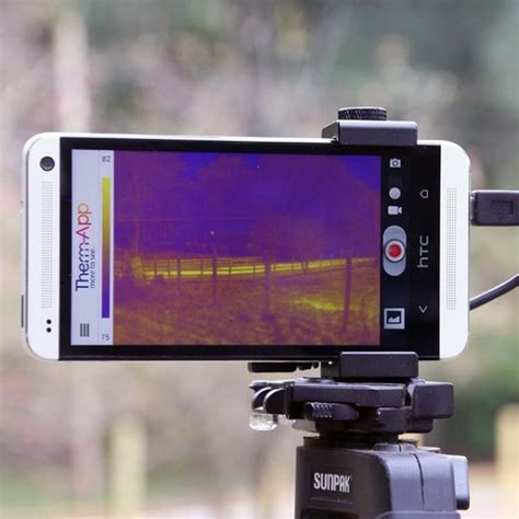 thermal imaging app 187 therm app android thermal imaging devicepetagadget