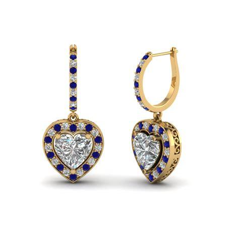 blue sapphire earrings fascinating