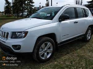2015 jeep compass sport 4x4 almost new white southtown