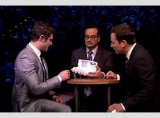 Video: Zac Efron Beats Jimmy Fallon in Egg Russian Roulette Russian Roulette Game Show Movie
