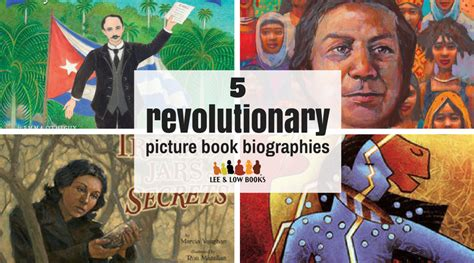 biography books 2017 activism in children s books 5 revolutionary biographies