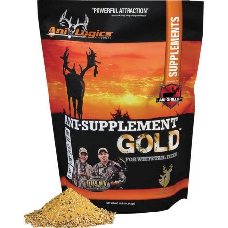 supplement 365 deer ani logics supplement 365 wildlife feed supplement by ani