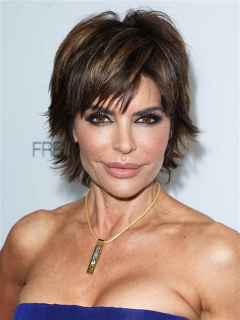 short hair for round faces in their 40s short curly hairstyles for women over 40