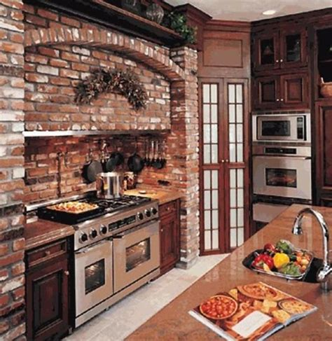 brick kitchen ideas 25 exposed brick wall designs defining one of
