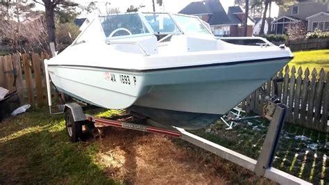 mfg tri hull fiberglass boat boat restoration the challenge thunderbird tri hull sunny