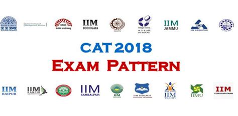 pattern of cat exam cat 2018 expected exam pattern take mock test to prepare