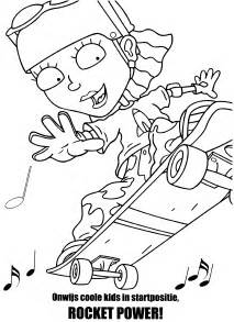 www coloring rocket power coloring pages coloringpages1001