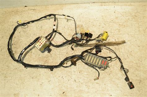 jeep wrangler tj  dash fuse box wire harness early  soft top  wiring ebay