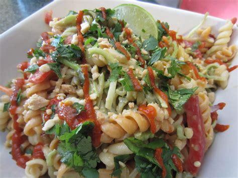 thai pasta salad thai pasta salad recipe