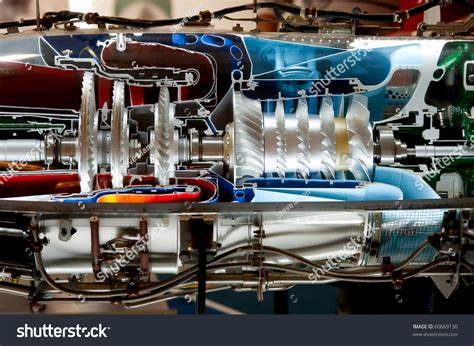 Jet Engine Cross Section by Turbine Engine Cross Section Turbine Free Engine Image