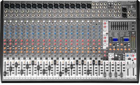 Mixer Behringer Sx 2442 Fx mesa de som behringer sx 2442fx 2442 fx 24 canais r 2