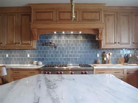 recycled glass backsplashes for kitchens 25 best ideas about blue subway tile on blue