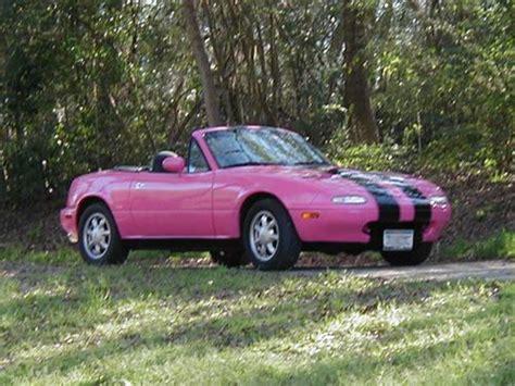 girly sports cars pink cars pink mazda miata awesome girly cars girly