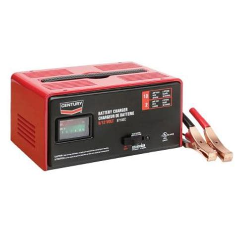 Home Depot Batteries Century 12 Volt 87102c Battery Charger 141 291 904 The