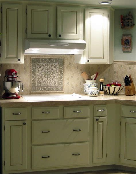 Vintage Kitchen Tile Backsplash | kitchen designs vintage kitchen cabinet mosaic kitchen