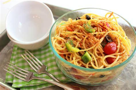 cold salad recipes cold spaghetti salad