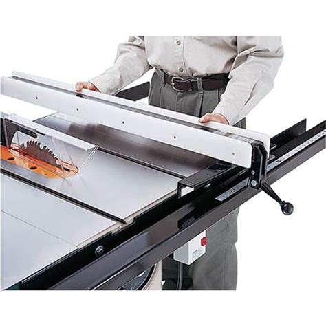 power saws shop fox table saw fence with standard rails