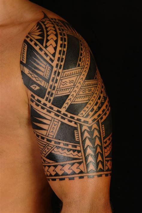 polynesian cross tattoo 1000 ideas about tribal sleeve tattoos on
