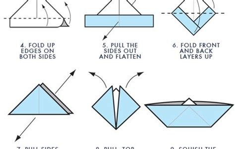 origami boat step by step step by step instructions for origami boat art projects