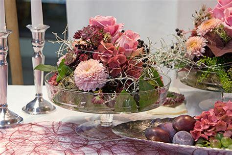 Tischschmuck Hochzeit by Hochzeitsfloristik In Melle Blumenhof Barkmeyer