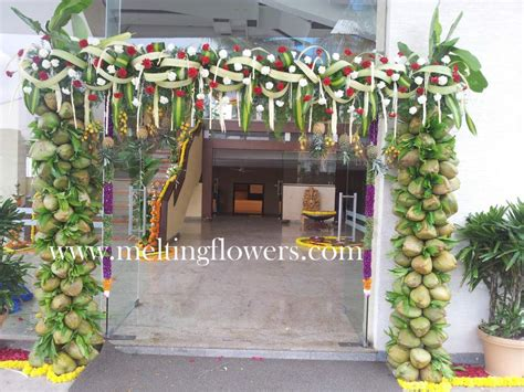 Flower Decorations For Home Decor For Corporate Events In Bangalore Wedding Decorations Flower Decoration Marriage